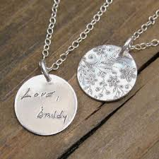 personalized memorial necklace shop handwriting memorial jewelry on wanelo