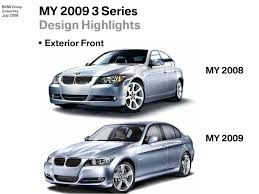 bmw models 2009 2008 bmw 3 series vs 2009 3 series facelift in images