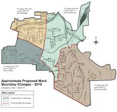 Cleveland Ohio Map by Alternative Council Redistricting Proposals Realneo For All