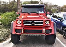 mercedes benz jeep red 2017 mercedes benz g550 4x4 at amelia island concours 45 photos