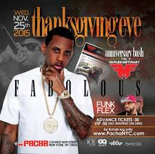 ra fabolous and funkflex thanksgiving wednesday november