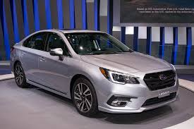 subaru 2018 subaru legacy breaks cover at 2017 chicago auto show