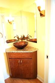 corner bathroom vanity table sweetlooking corner bathroom vanity set vanities and regarding