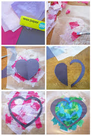 paper heart window decorations yummymummyclub ca