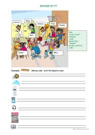 Esl Homonyms Worksheet 42 Free Esl Whose Worksheets