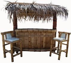Tiki Patio Furniture by Tropical Garden Furniture Bamboo Tiki Huts Bars Benches