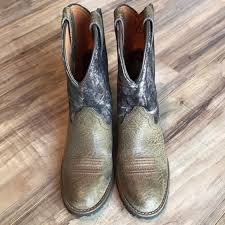 ariat s boots size 12 51 ariat other boys ariat size 12 camouflage leather