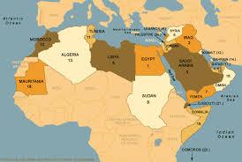 arab countries map arab league map us iraq war procon org