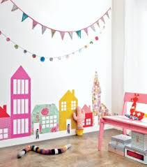 Wall Art For Kids Room by House Themed Wall Art For Kids Rooms Fun Crafts Kids