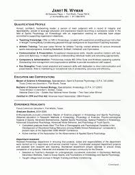 Masters Degree Resume Resume Template Basic Resume Template For High