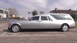 roll royce carro autofunebre mod b12 di biemme special cars su base rolls royce