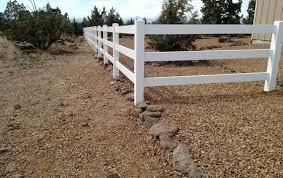 Outdoor Areas by Vinyl Ranch Fencing Bend Fencing Cedar Chain Link