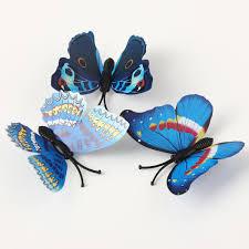 12pcs 3d blue butterfly wall stickers art decals home wedding 12pcs 3d blue butterfly wall stickers art decals home wedding party decoration