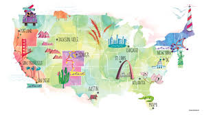 map trip top 3 summer road trips for yogis journal journal