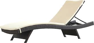 Outdoor Wicker Chaise Lounge Articles With White Wicker Patio Chaise Tag Enchanting Outdoor