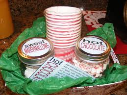 hot chocolate gift ideas hot cocoa gift basket the house