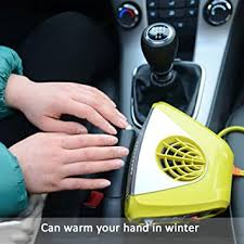 automotive heater defroster fan portable heater defroster fan 12v car heater warmer cold warm wind