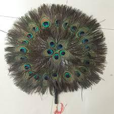peacock fan fantastic peacock feather fan high grade costume drama