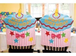 birthday chair cover cupcake bites birthday cupcake chair cover