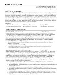Summary Resume Sample by 15 Best Human Resources Hr Resume Templates U0026 Samples Images On