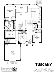 Single Family Homes Floor Plans by Tuscany Dream Finders Homes