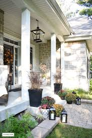 Pictures Of Front Porches Decorated For Fall - decorating ideas for front get rid of the ho hums on a small