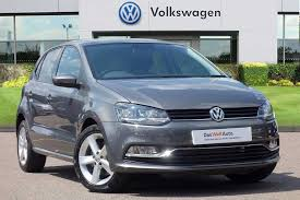 car volkswagen polo find a used grey vw polo 1 0 tsi sel 110 ps bmt 5 dr in harlow