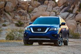 nissan kicks 2017 blue 2017 nissan pathfinder reviews and rating motor trend