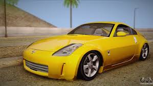 nissan 350z yellow color nissan 350z for gta san andreas u2014 page 3