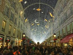 where to go see christmas lights why you should go and see málaga s famous christmas lights sunset