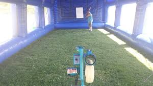 batting cage and pitching machine mobile batting cage rental