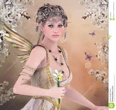 Beautiful Fairies by Http Thumbs Dreamstime Com Z Spring Queen Beautiful Fairy Iris