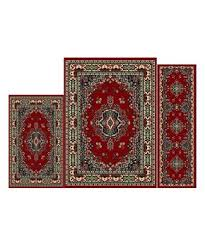 Prism 3 Piece Rug Set Roll Out The Rug Savings Zulily