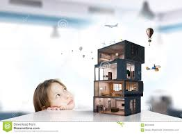 design of your dream house mixed media stock photo image 85704458