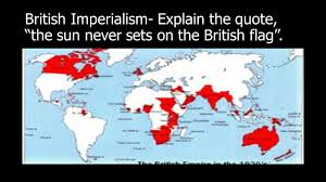 British Flag Ww1 Imperialism The Policy Of Extending Authority And Control Over