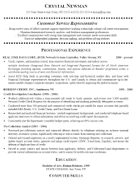 Sample Of Good Resume by Examples Of Customer Service Resumes Berathen Com