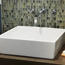 bathroom sinks and faucets ideas loft above counter bathroom sink american standard