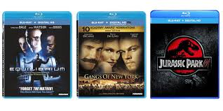 take home these blu rays for only 5 equilibrium gangs of new