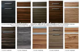 Pvcppwood Veneerpaperal Overlaid Mdf Wrapping Kitchen Cabinet - Kitchen cabinet veneers