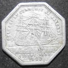 chambre du commerce bayonne token chambre de commerce 1920 bayonne 10 centimes alum
