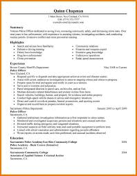 Law Enforcement Objective For Resume Essays On Co Education In Schools How To Write A Constructed