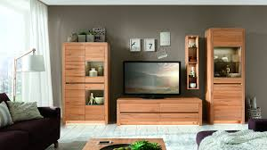 Wohnzimmerschrank Ohne Tv Fach Wöstmann Wohnkombination In Kernbuche Massiv Soft Gebürstet Wood