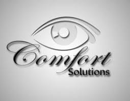 Comfort Solutions Vitrectomy Logo Design For Comfort Solutions Freelancer