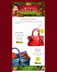 12 best 12 of the best holiday u0026 christmas email newsletter