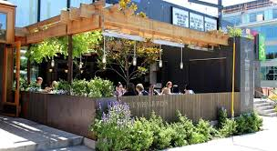 Designers Patio by Outdoor Patio Design Of The Whale Wins Restaurant Seattle