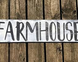 Rustic Farmhouse Kitchens - large farmhouse sign etsy