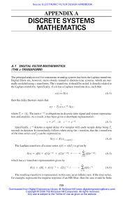 Calaméo electronic filter design handbook