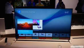 where pre order sony u0027s razor thin android tv sets ahead july
