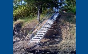 aluminum stairways alumidock