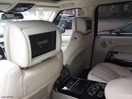 range rover autobiography black edition land rover range rover autobiography black edition u002715 the auto